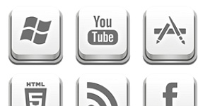 Apple Keyboard Icons