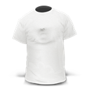 Tshirt, White Icon