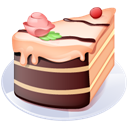 Cake, Of, Piece Icon