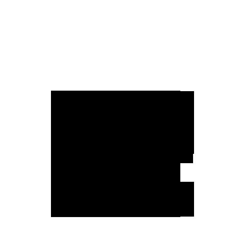 Black, m, Mirror Icon