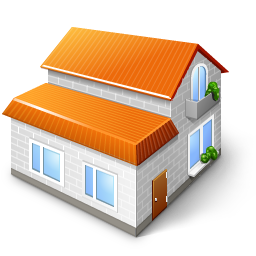 3d, Home Icon