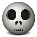 Emoticon, Skull Icon