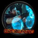 Overstrike, Round Icon