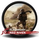 Of, Red, River Icon