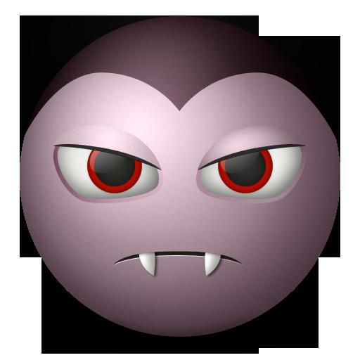 Dracula, Emoticon Icon