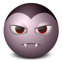 Dracula, Emoticon Icon