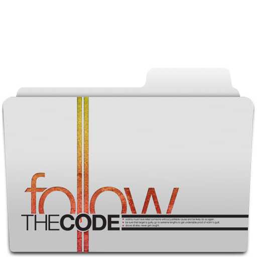 Code, Dexter, Folder, The Icon