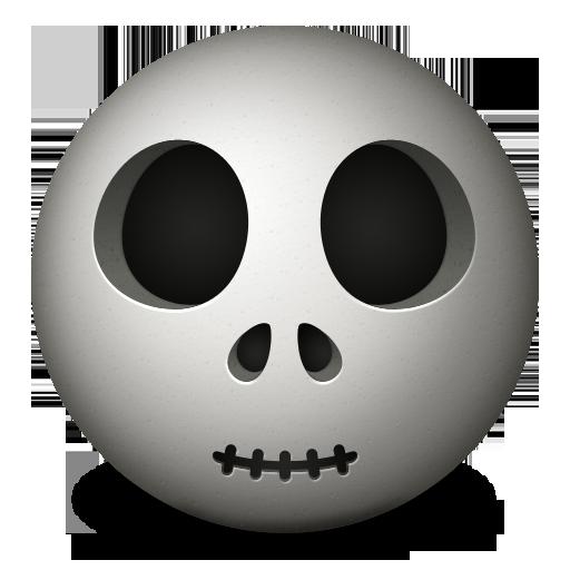 Emoticon, Skull Icon