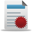 License, Manager Icon