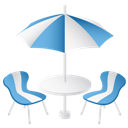 Furniture, Summer Icon