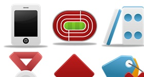 Pretty Office Icon Set Part 7 Icons