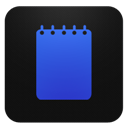 Blueberry, Notepad Icon
