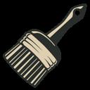 Brush, Vintage Icon