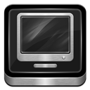 Computer, Metallic Icon