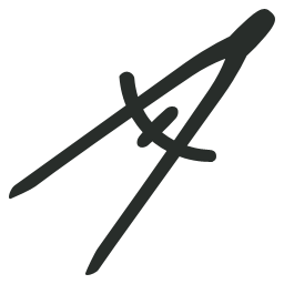 Compass, Outline Icon