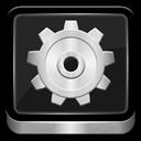 Metallic, Settings Icon