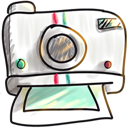 Cartoon, Instant, Photo Icon