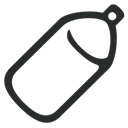 Outline, Spray Icon