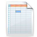 Shadow, Spreadsheet Icon