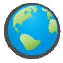 Childish, Globe Icon