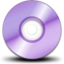 Cdrom, Purple Icon