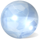 Crystal, Sphere Icon