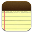 Ios, Notes Icon