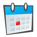 Calendar, Childish Icon