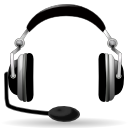 Audio, Headset Icon