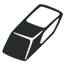 Eraser, Outline Icon
