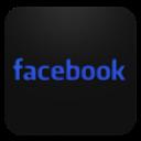 Blueberry, Facebook, Text Icon