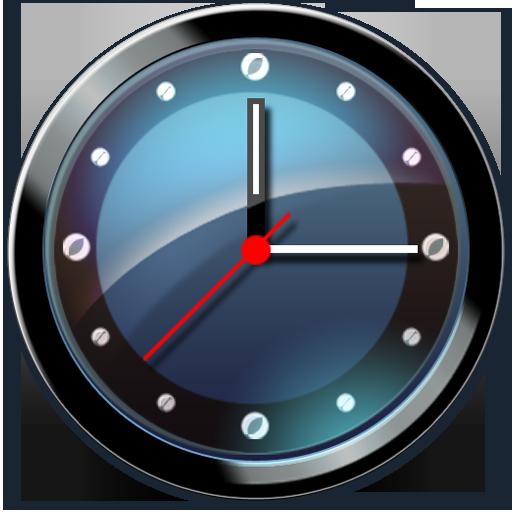 Clock, Shadow Icon