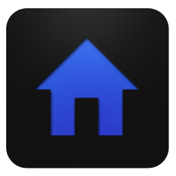 Blueberry, Home Icon