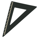 Triangle, Vintage Icon