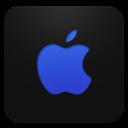 Apple, Blueberry Icon