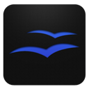 Blueberry, Office, Open Icon