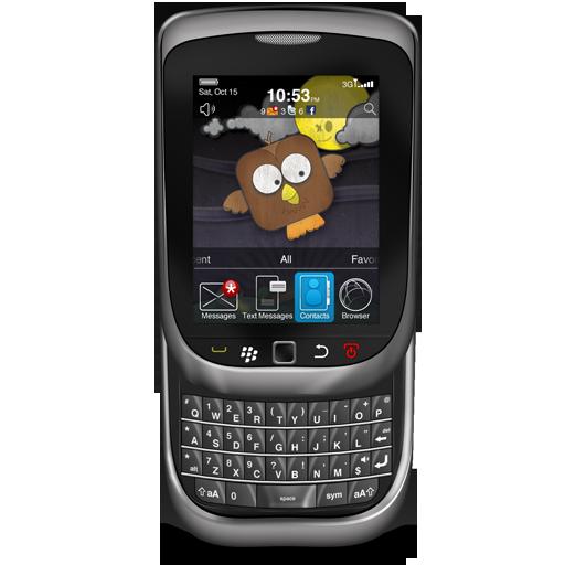 Blackberry, Torch Icon