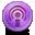 Podcast, Round Icon