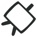 Canvas, Outline Icon
