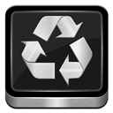 Metallic, Recycle Icon