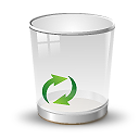 Glass, Recycle Icon