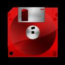 Black, Fdd, Red Icon