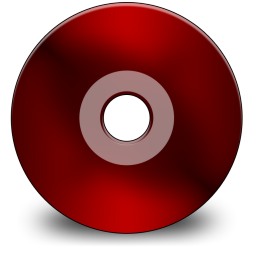 Black, Cd, Red Icon