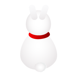 Back, Rabbit Icon