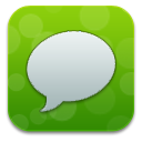 Green, Messages Icon