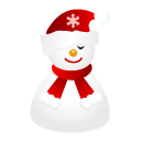 Sleepy, Snowman Icon