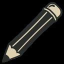 Pencil, Vintage Icon