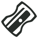 Outline, Sharpener Icon