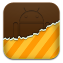 Android, Orange, Themes Icon