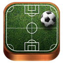 Soccer, Wooden Icon